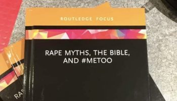 Rape Myths, The Bible, and #METOO book cover.