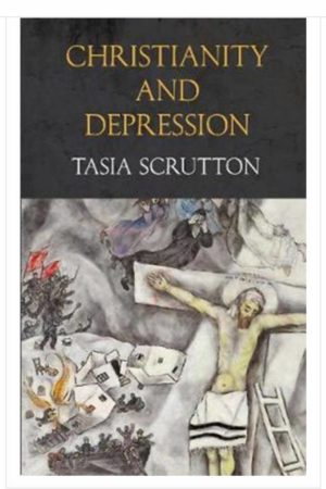 Christianity and Depression book cover by Tasia Scrutton.