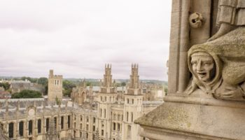 A view of Oxford Cathedral.