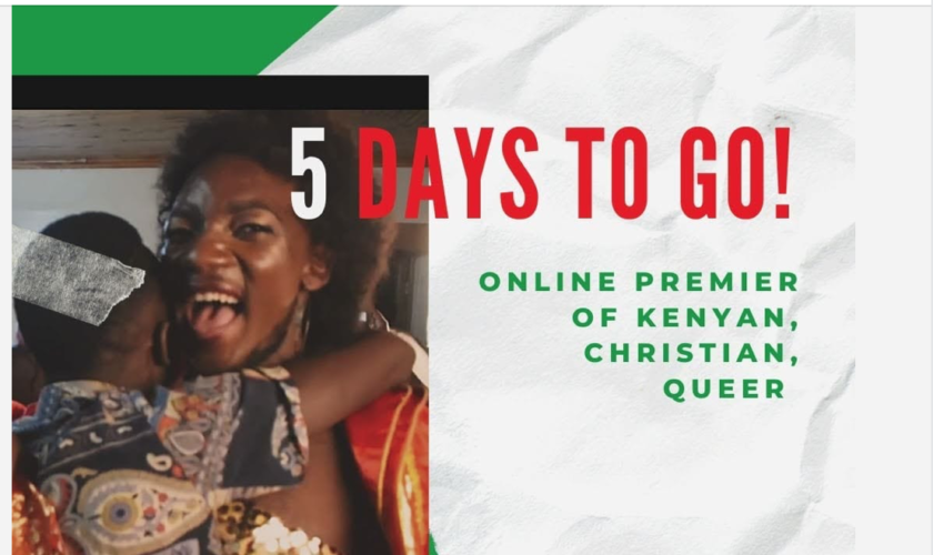 Premiere of Kenyan Christian Queer: 5 Days To Go! poster.